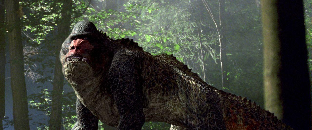 Haben nicht einmal im ausgestorbenen Zustand ihre Ruhe: Im Jahr 2055 sind Dinosaurierjagden in der Vergangenheit der absolute Hit für reiche Jäger.... - Bildquelle: ApolloMedia