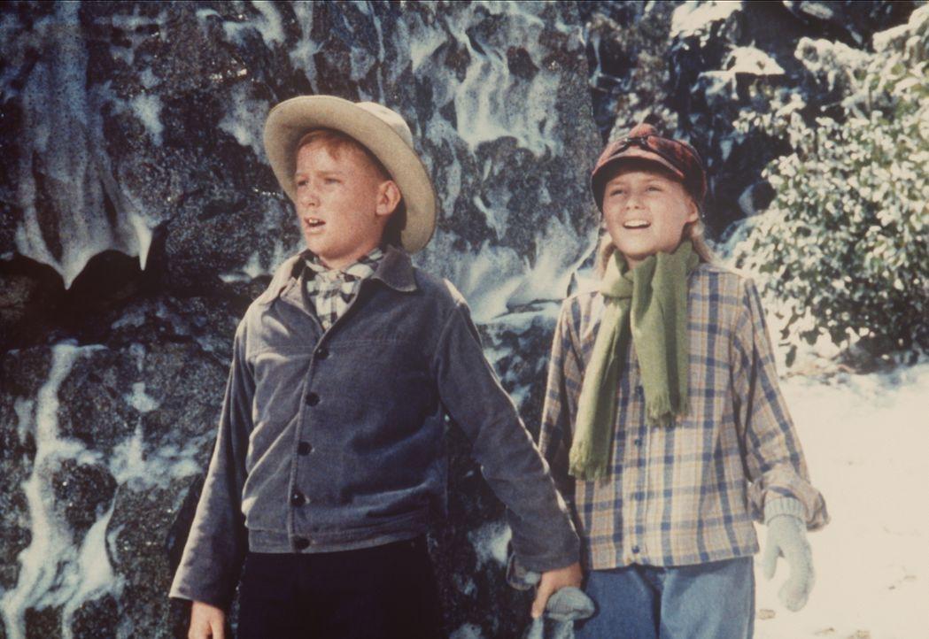 Jeremy Pastor (Michael S. McGreevey, l.) hilft Gabrielle (Diane Mountford, r.) bei der gefährlichen Suche nach deren Großvater. - Bildquelle: Paramount Pictures