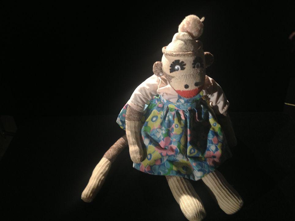 Don Wildman untersucht eine handgemachte Puppe aus dem Jahr 1930 ... - Bildquelle: 2014, The Travel Channel, L.L.C. All Rights Reserved.