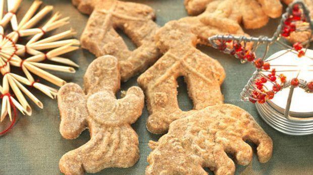 Spekulatius schmecken nicht nur, sondern sehen auch nach Weihnachten aus!