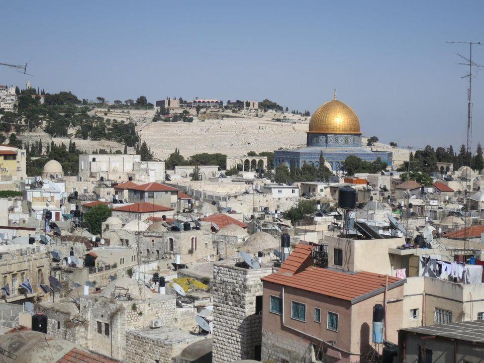Anthony Bourdain besucht Israel, die West Bank und den Gazastreifen um zu erfahren, wie die Menschen dort mit der angespannten politischen Situation... - Bildquelle: 2013 Cable News Network, Inc. A TimeWarner Company. All rights reserved.