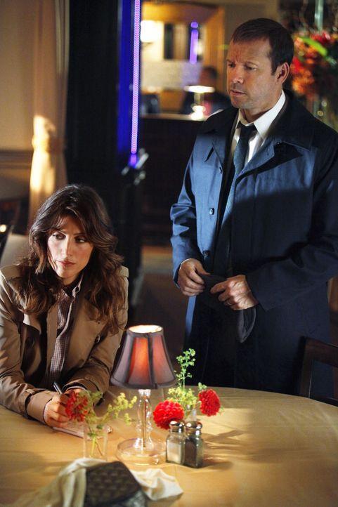 Hat der neuste Fall von Erin (Bridget Moynahan, l.) und Danny (Donnie Wahlberg, r.), möglicherweise mit einer Streitigkeit zwischen Baugewerkschaft... - Bildquelle: 2011 CBS Broadcasting Inc. All Rights Reserved