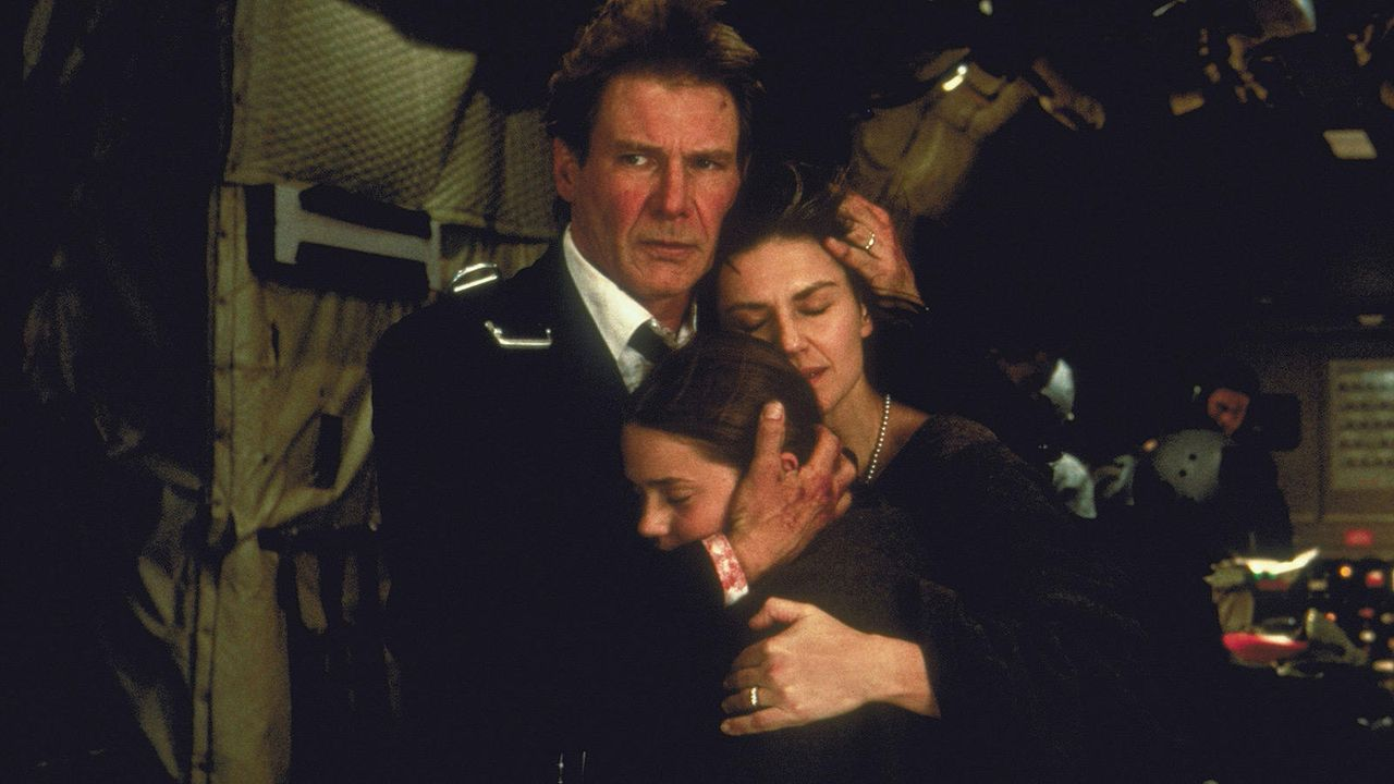 """Harrison Ford in """"Air Force One"""" (1997)"""