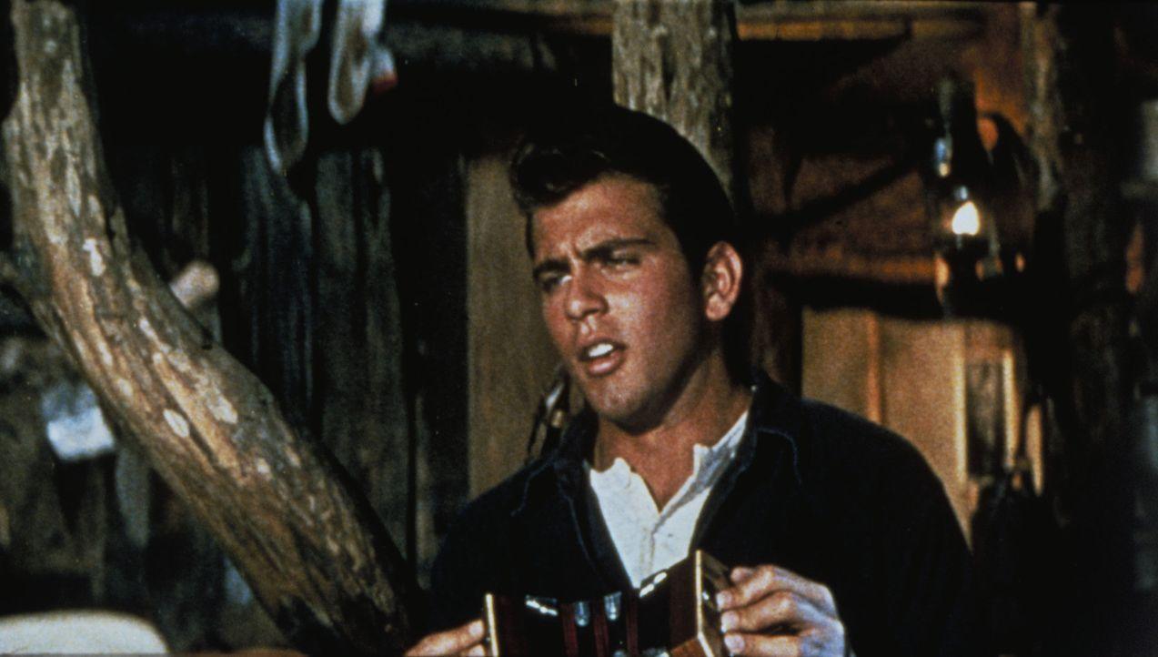 Gerät immer wieder in haarsträubende Situationen: Billy (Fabian) ... - Bildquelle: 1960 Twentieth Century Fox Film Corporation.