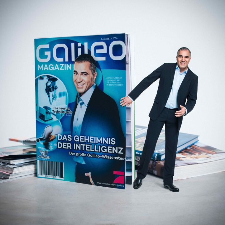 """""""Galileo"""" das Wissensmagazin wird von Aiman Abdallah präsentiert. - Bildquelle: Arne Weychardt ProSieben"""