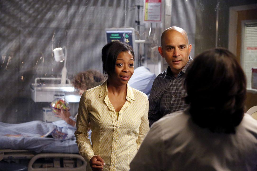 Noch ahnen Teresa (Bresha Webb, l.) und David Morris (Mark Adair-Rios, M.) nicht, dass Bailey (Chandra Wilson, r.) gegen ihren Willen gehandelt hat... - Bildquelle: ABC Studios