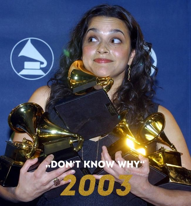 Grammy 2003: Don't know why - Bildquelle: AFP