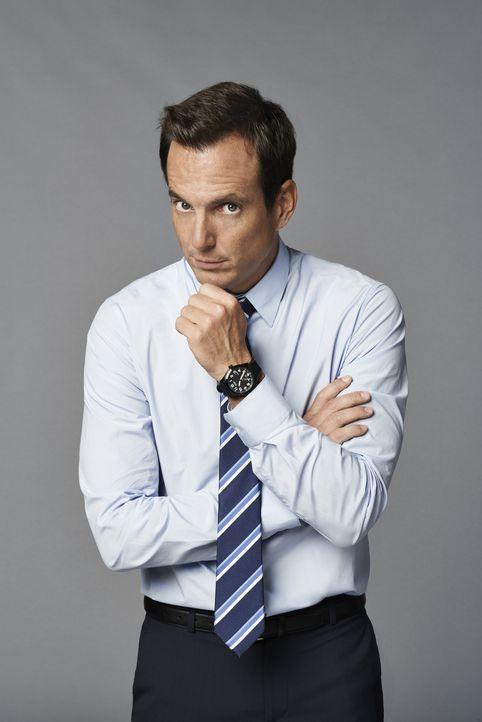 (1. Staffel) - Nate Miller (Will Arnett) hat sich kürzlich von seiner Frau scheiden lassen und sieht einem Neuanfang im Leben entgegen. Doch als si... - Bildquelle: 2013 CBS Broadcasting, Inc. All Rights Reserved.