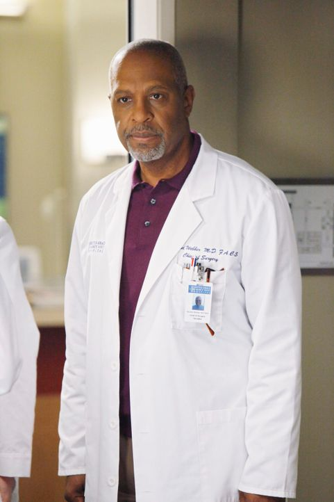 Trifft eine schwerwiegende Entscheidung: Webber (James Pickens, Jr.) ... - Bildquelle: Touchstone Television