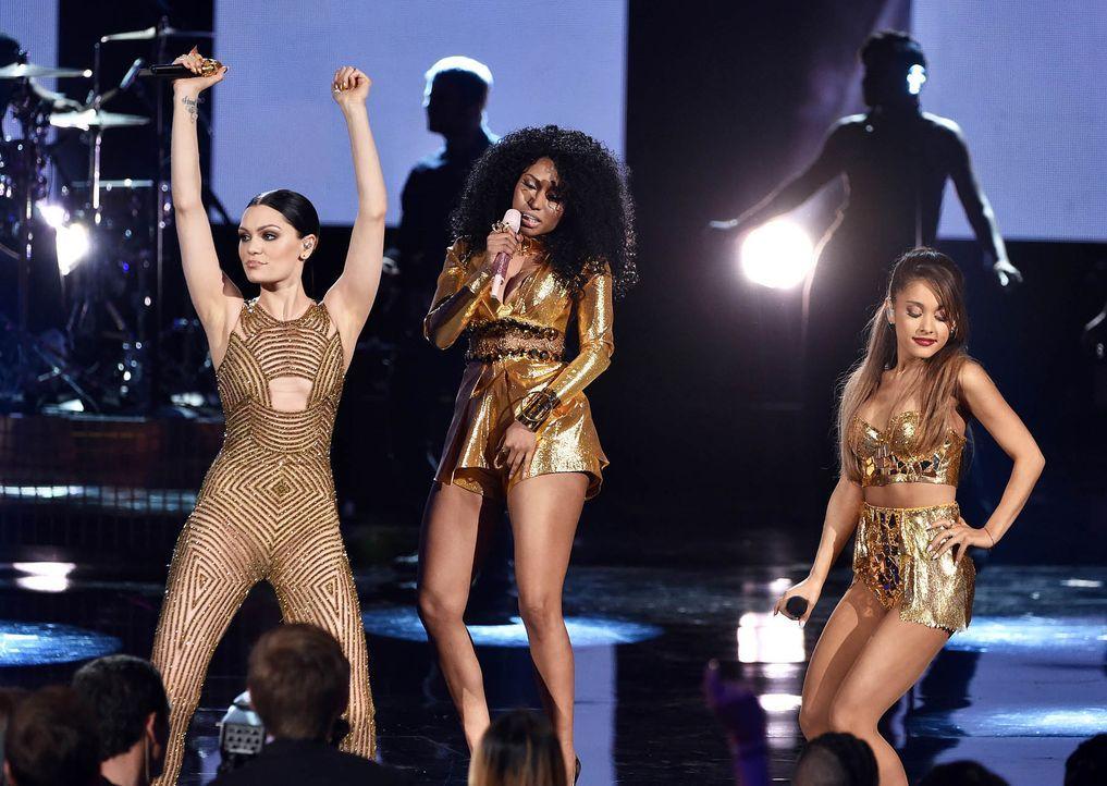 Jessie-J-Nicki-Minaj-Ariana-Grande-14-11-23-getty-AFP - Bildquelle: getty-AFP