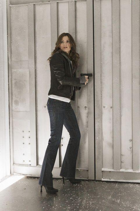 Gibt es eine Chance, aus dem Kühllaster zu entkommen? Kate Beckett (Stana Katic) will die Hoffnung nicht aufgeben ... - Bildquelle: 2011 American Broadcasting Companies, Inc. All rights reserved.