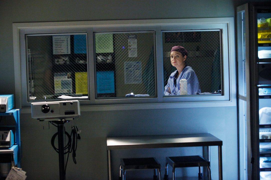 Schlechte Stimmung: Meredith (Ellen Pompeo) kann es nicht fassen, dass Derek ihr nicht Bescheid gesagt hat, dass er die Kinder zu Arizona und Callie... - Bildquelle: ABC Studios