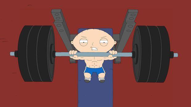 Lässt sie Muskeln spielen: Stewie Griffin © 2006-2007 Twentieth Century Fox F...
