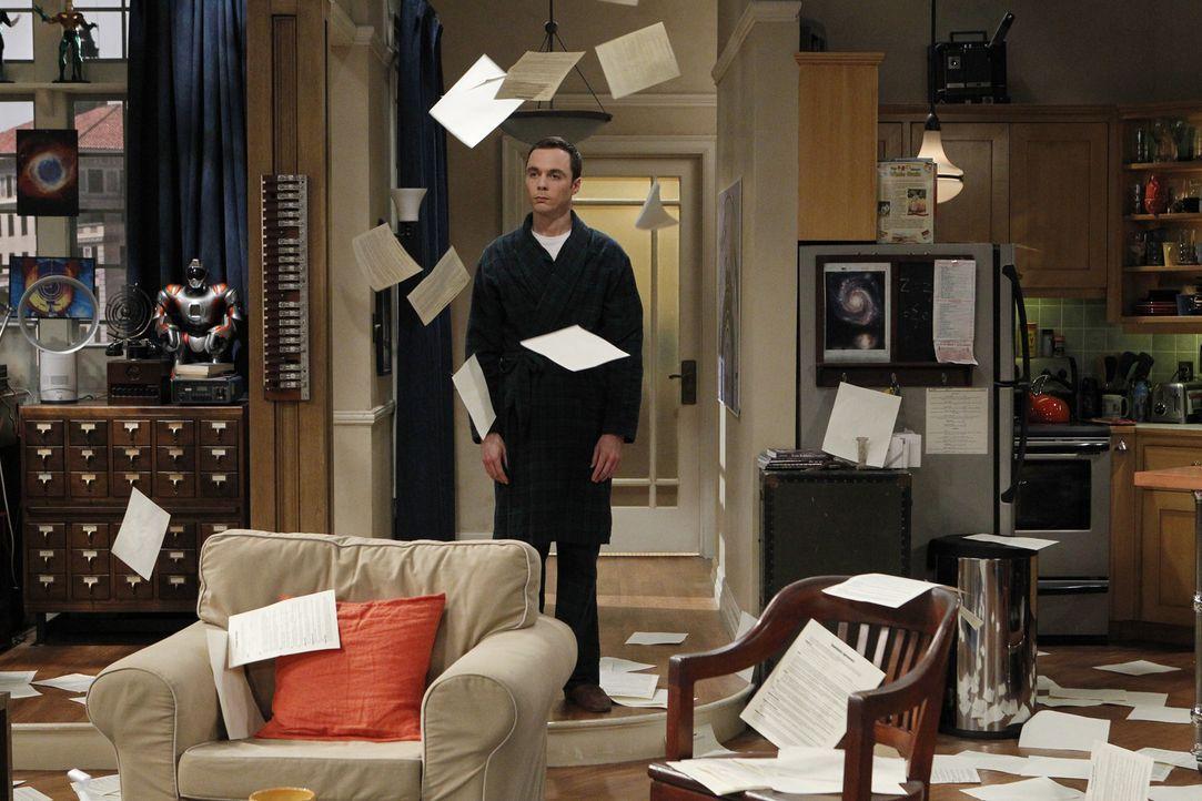 Was ist nur mit Sheldon (Jim Parsons) los? - Bildquelle: Warner Bros. Television