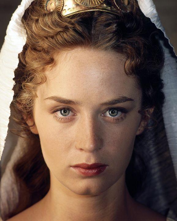 Die oberste Vestalin Camene (Emily Blunt) hütet wie einen Schatz Caesars letzten Willen. Da taucht plötzlich Octavius bei ihr auf ... - Bildquelle: Hallmark Entertainment