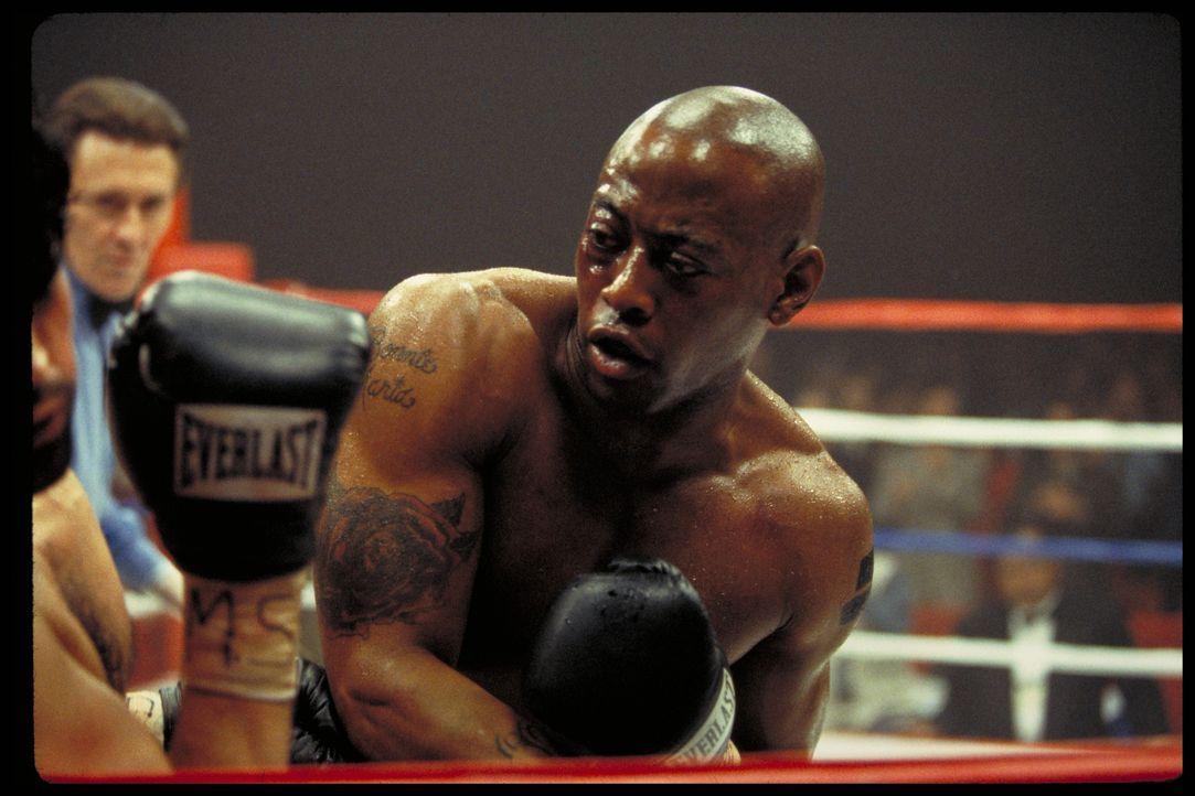 Nach und nach gelingt es Jackie, den talentierten, doch drogensüchtigen und unzuverlässigen Luther (Omar Epps) zu einem Gewinnertypen aufzubauen ... - Bildquelle: Paramount Pictures