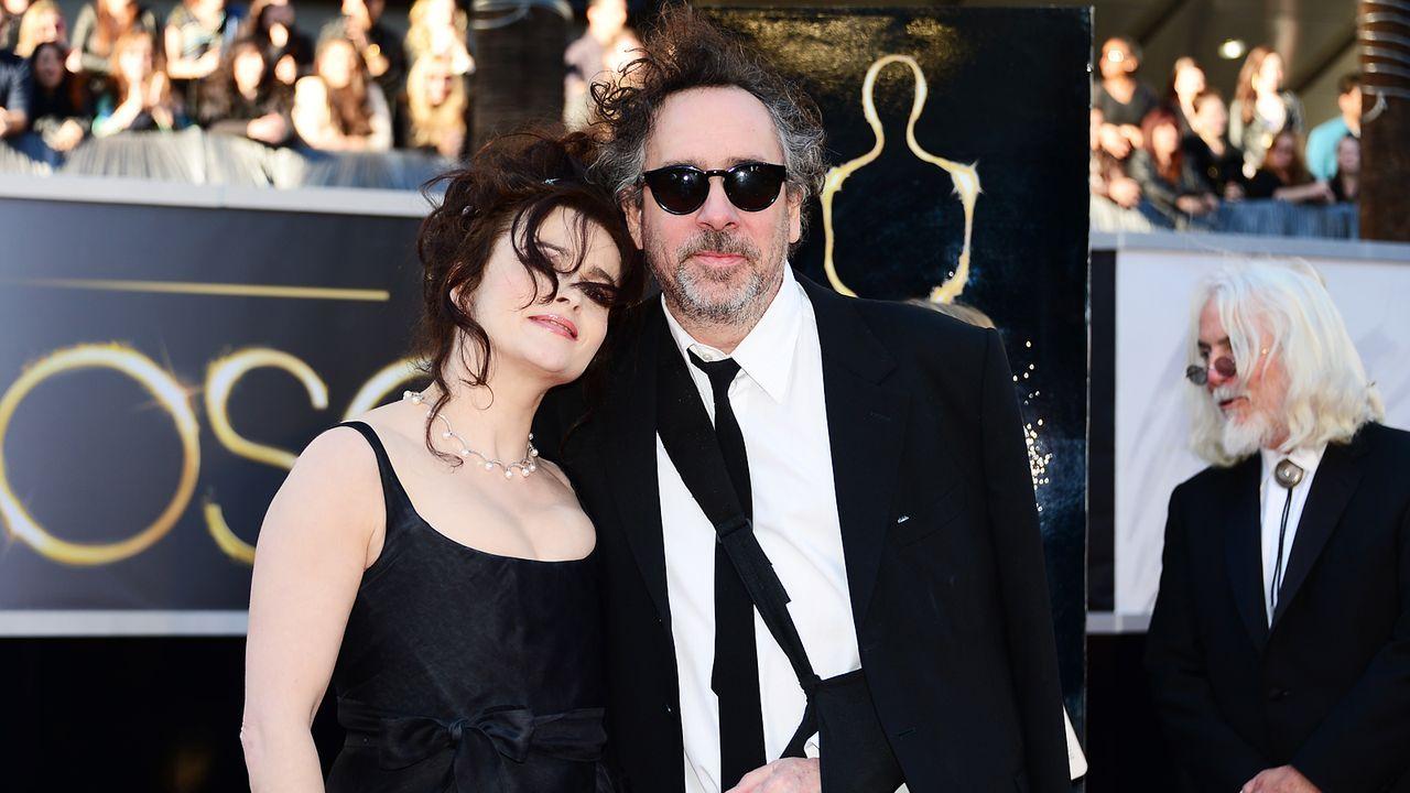 Oscars-Roter-Teppich-130224-Helena-Bonham-Carter-Tim-Burton-AFP - Bildquelle: AFP