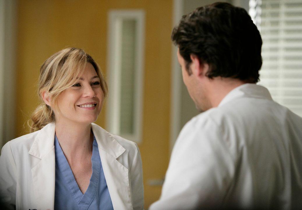 Erleben während der Operation an Gretas Hirntumor eine Überraschung: Derek (Patrick Dempsey, r.) und Meredith (Ellen Pompeo, l.) ... - Bildquelle: Touchstone Television