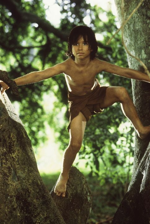 Mowgli (James Williams) ist in seinem Element ... - Bildquelle: MDP WORLDWIDE