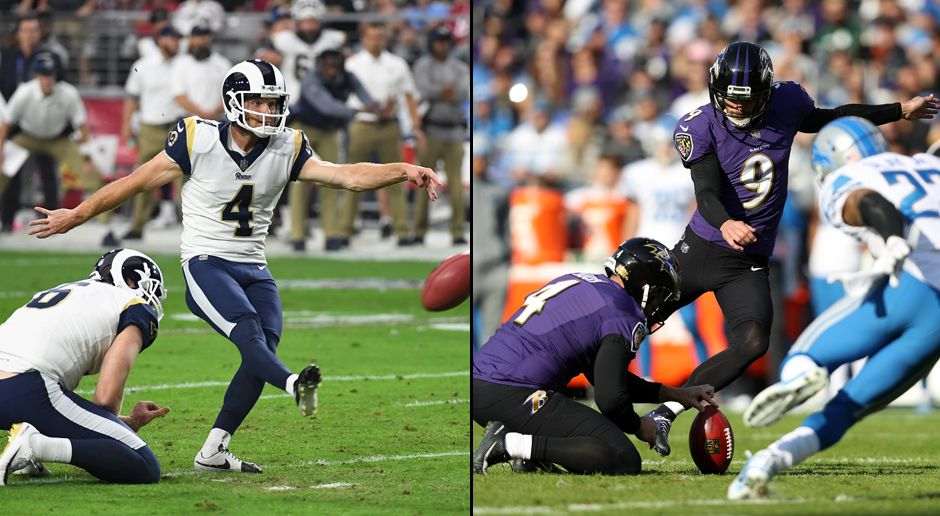 Special Teams und Kicker: Los Angeles Rams/ Baltimore Ravens - Bildquelle: 2017 Getty Images