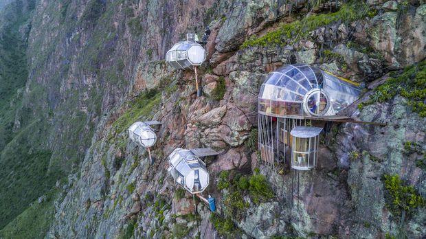 Abenteuer Leben - Abenteuer Leben - Dienstag: Skylodge - Hotel Am Abgrund