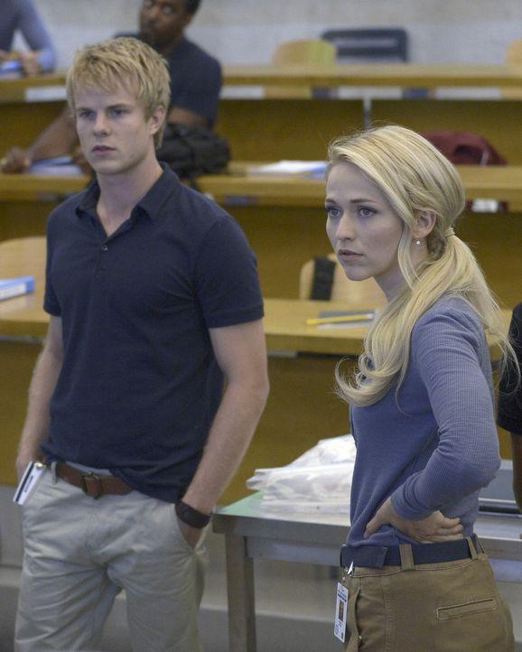Bekommen eine neue Aufgabe - die es zu meistern gilt: Caleb (Graham Rogers, l.) und Shelby (Johanna Braddy, r.) ... - Bildquelle: 2015 ABC Studios