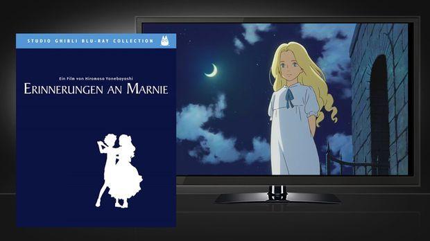 Erinnerungen an Marnie - Blu-ray und Szene © Universum Film