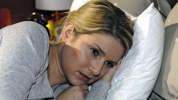 Anna (Jeanette Biedermann) ist traurig, dass Jannick ihr vorwirft, sich negat...