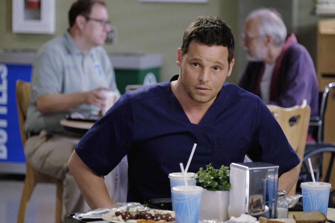 Kümmert sich um seine beste Freundin Meredith so gut er kann: Alex (Justin Chambers) ... - Bildquelle: Tony Rivetti ABC Studios