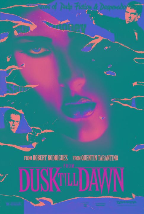 From Dusk Till Dawn - Plakat - Bildquelle: 1995 Miramax, LLC . All Rights Reserved.