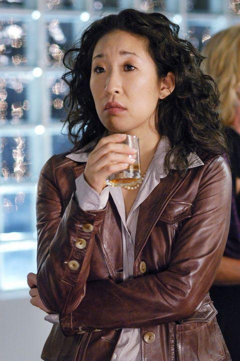 Nach dem plötzlichen Tod von Denny, hat Cristina (Sandra Oh) Angst Burke zu verlieren ... - Bildquelle: Touchstone Television