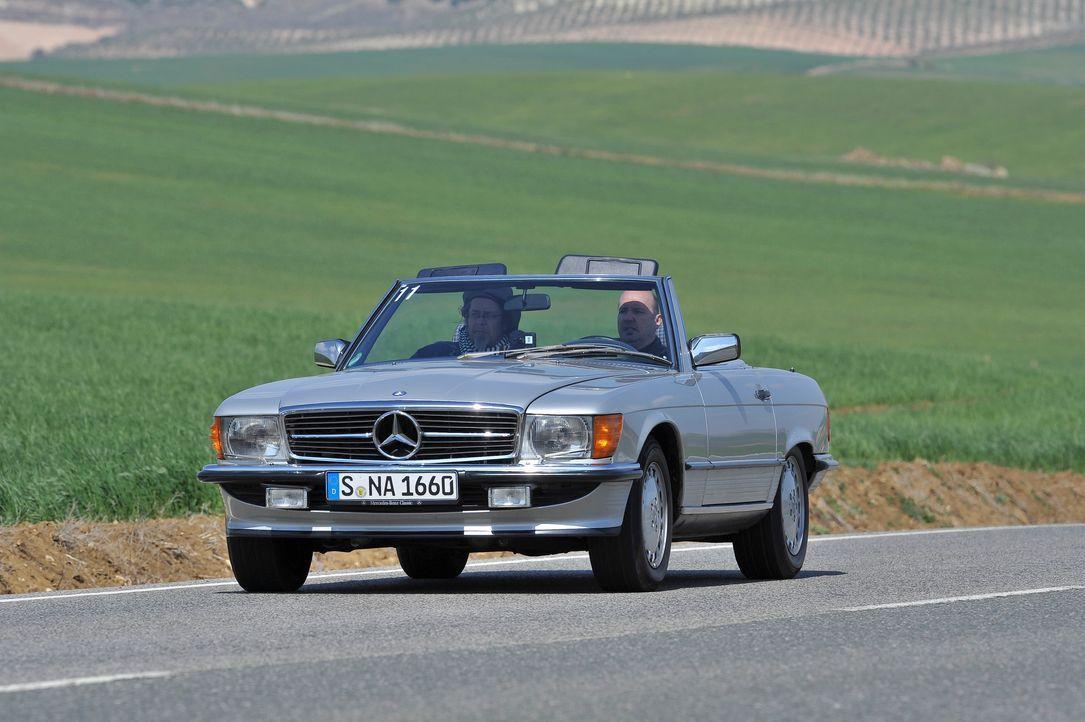 Platz 4: Mercedes 500 SL - Bildquelle: Mercedes