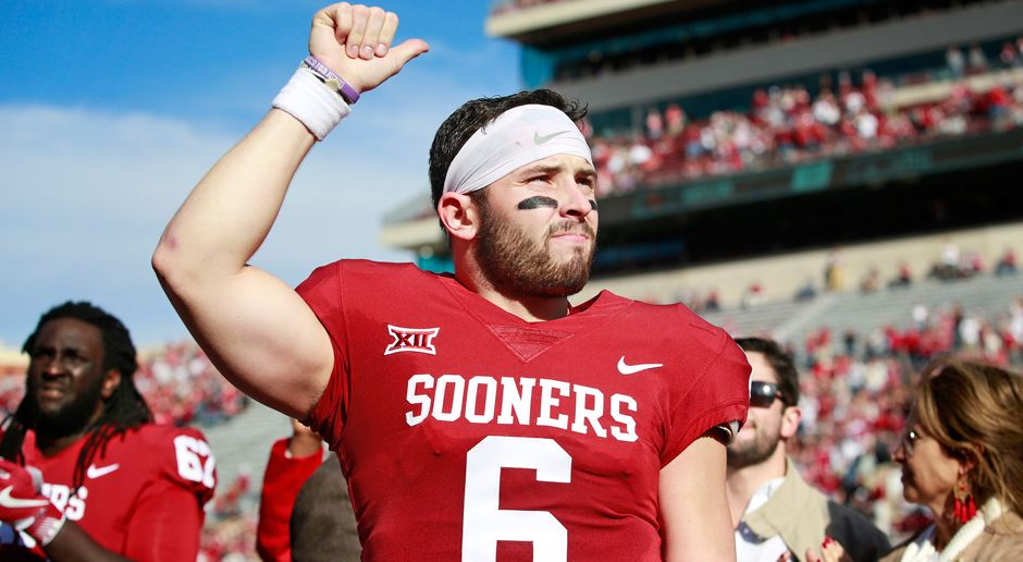 Baker Mayfield - University of Oklahoma - Bildquelle: 2017 Getty Images