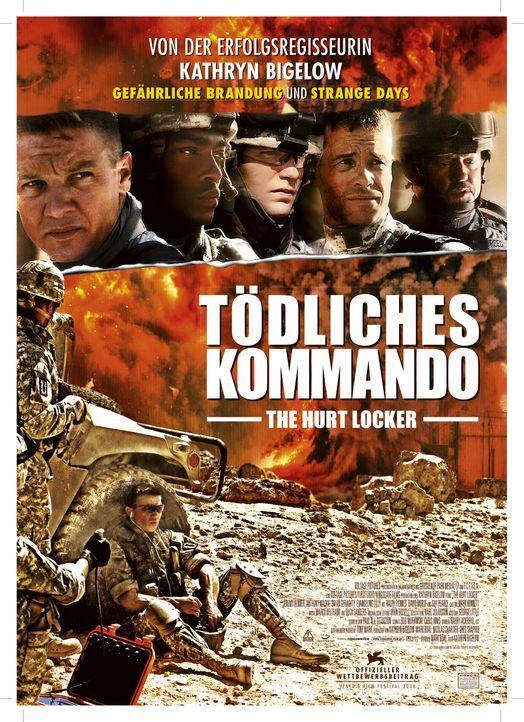 TÖDLICHES KOMMANDO - THE HURT LOCKER - Plakatmotiv - Bildquelle: 2009 Concorde Filmverleih GmbH