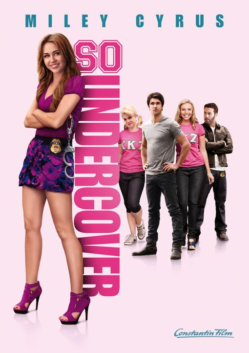 SO UNDERCOVER - Plakatmotiv - Bildquelle: Saeed Adyani Bluefin Productions LLC