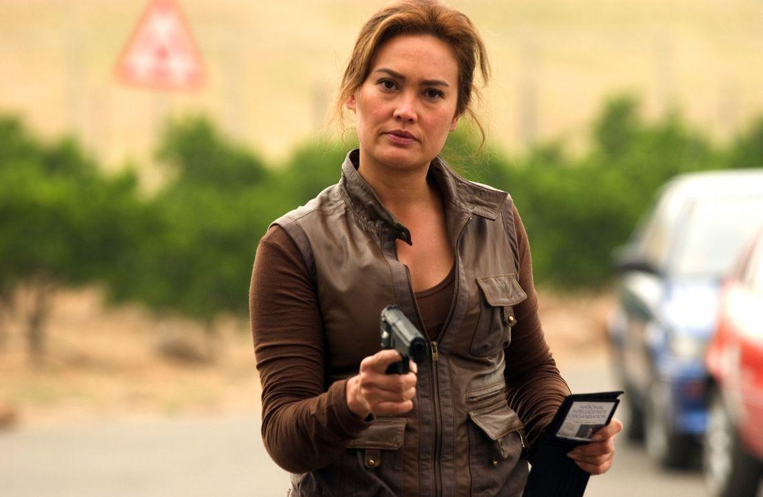 Für Special Agent Lisa Delgado (Tia Carrere) beginnt ein gnadenloser Wettlauf mit der Zeit ? - Bildquelle: Hallmark Entertainment