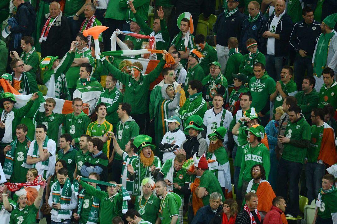 Fußball-Fan-Irland-120614-AFP - Bildquelle: AFP
