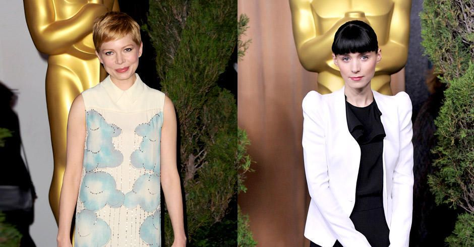 michelle-williams-rooney-mara-12-02-06-oscar-luncheon-getty-afpjpg 940 x 626 - Bildquelle: getty-AFP