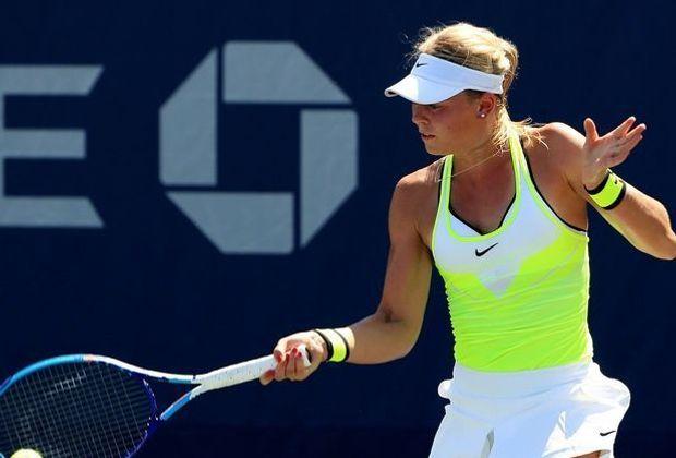 Carina Witthöft unterliegt im Viertelfinale