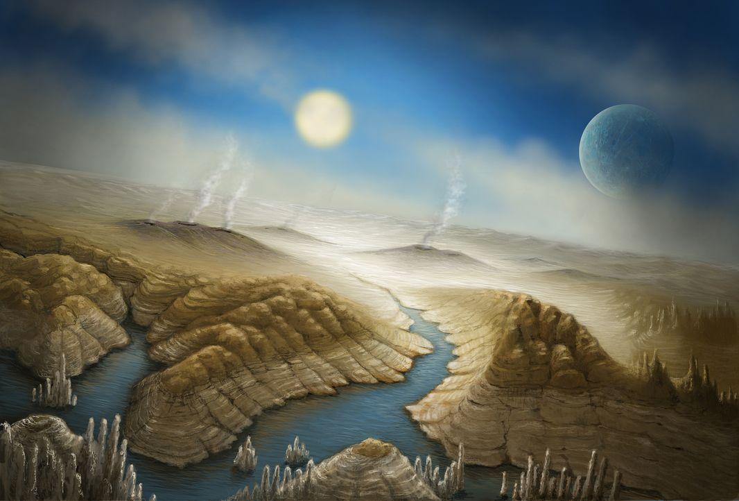 Gibt es eine andere Erde? Millionen Dollar werden in die Suche nach einer zweiten Erde investiert und seit das Kepler-Teleskop im Jahr 2009 seine Ar... - Bildquelle: Danielle Futselaar / SETI Institute