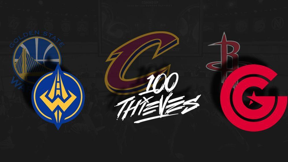 Die Cleveland Cavaliers, Golden State Warriors und Houston Rockets haben ein... - Bildquelle: lolesport