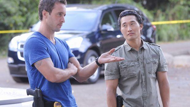 Ein neuer Fall beschäftigt: Steve (Alex O'Loughlin, l.) und Chin (Daniel Dae...