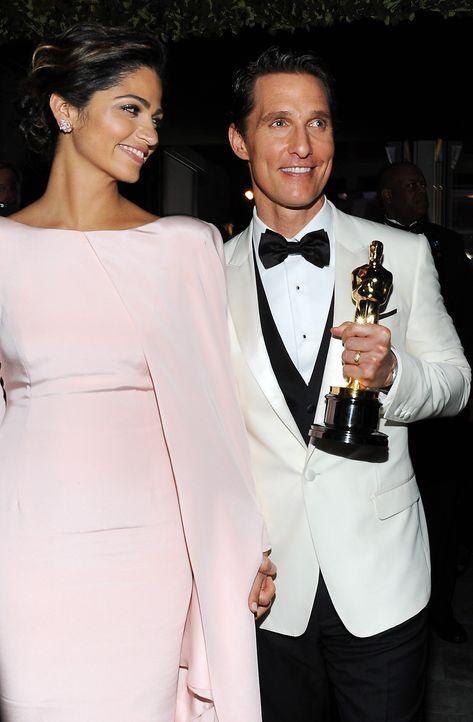 Oscars-Governors-Ball-Camilla-Alves-Matthew-McConaughey-140302-AFP - Bildquelle: AFP