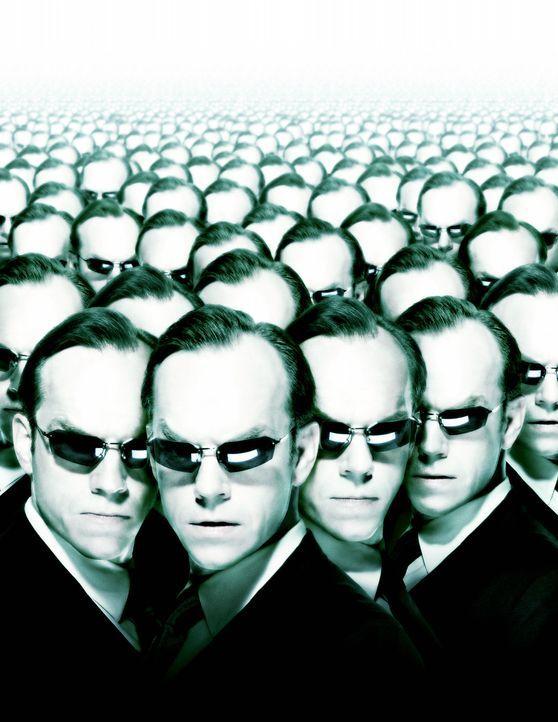 Matrix Reloaded mit Hugo Weaving ... - Bildquelle: Warner Bros.