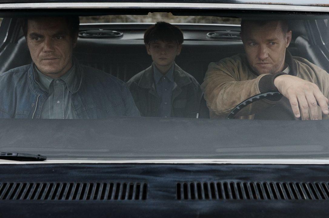 (v.l.n.r.) Roy (Michael Shannon); Alton (Jaeden Lieberher); Lucas (Joel Edgerton) - Bildquelle: Warner Bros.