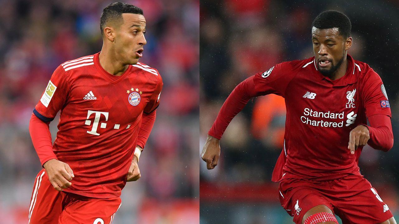 Thiago vs. Georginio Wijnaldum - Bildquelle: Getty Images