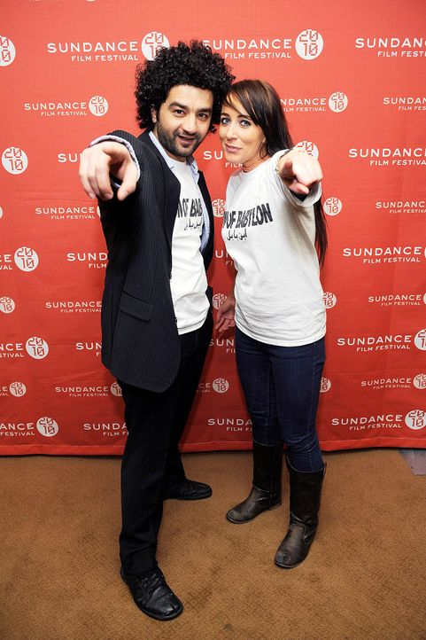 sundance-film-festival-mohamed-al-daradji-isabelle-stead-10-01-25-getty-afpjpg 1332 x 2000 - Bildquelle: getty - AFP