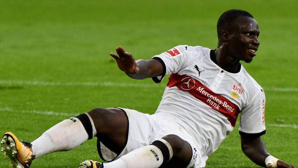 Verletzte sich gegen Wolfsburg: Chadrac Akolo - Bildquelle: imago/Hartenfelser