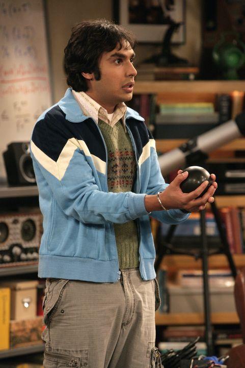 Leonard, Sheldon, Rajesh (Kunal Nayyar) und Howard müssen erkennen, dass MONTE noch weitere Entwicklungen nötig hat ... - Bildquelle: Warner Bros. Television