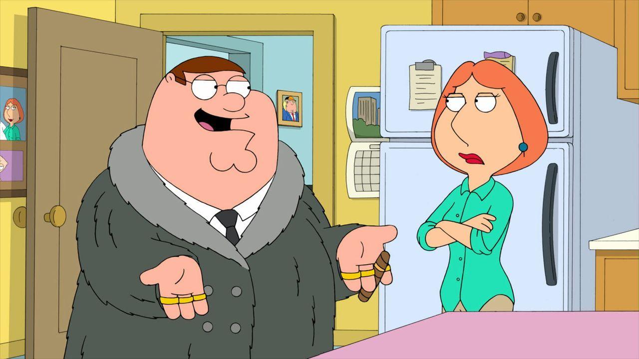 Peter (l.) wird Lois' (r.) Boxmanager und schickt sie von einem Kampf zum nächsten ... - Bildquelle: 2010 Twentieth Century Fox Film Corporation. All rights reserved.